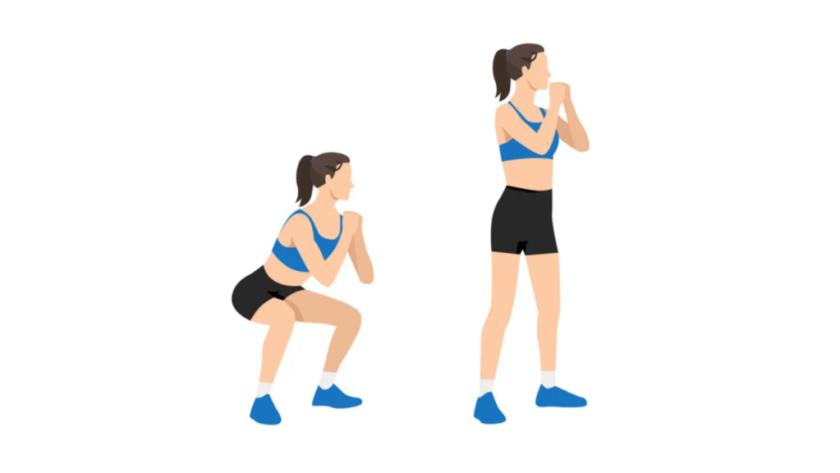 Best AMRAP Workouts Bodyweight Squats