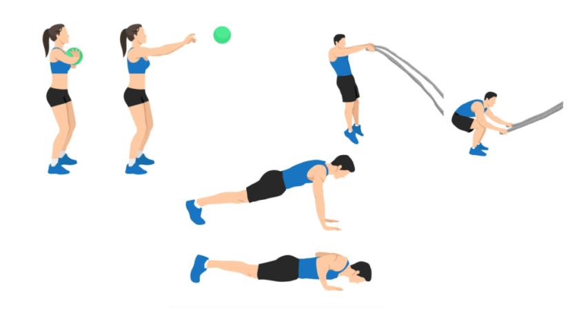 Best AMRAP Workouts The Push