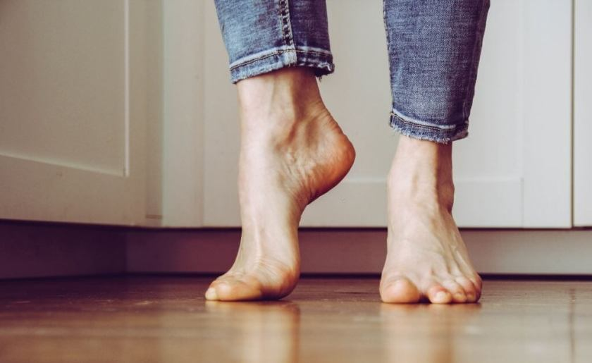 Taking Exercise When We Are Covid Affected toe lift