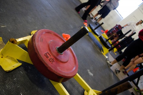 Haiku Contest. Subject...bumper plates. Go.