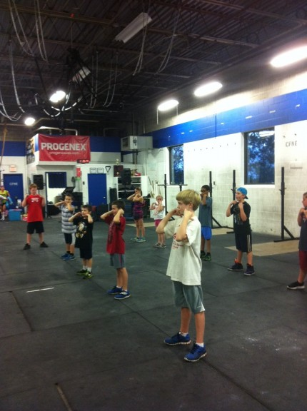 CrossFit Kids. So well behaved. :)