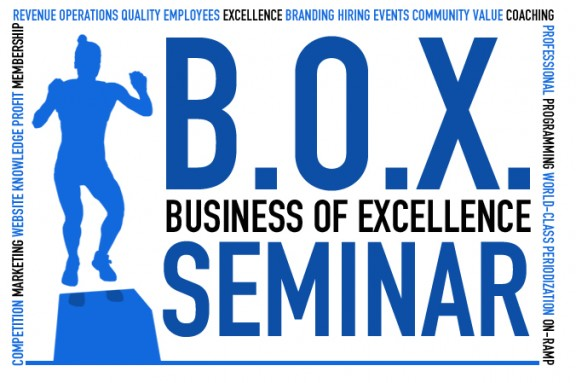 BOX Seminar is TODAY - two classes 7am & 1130am!