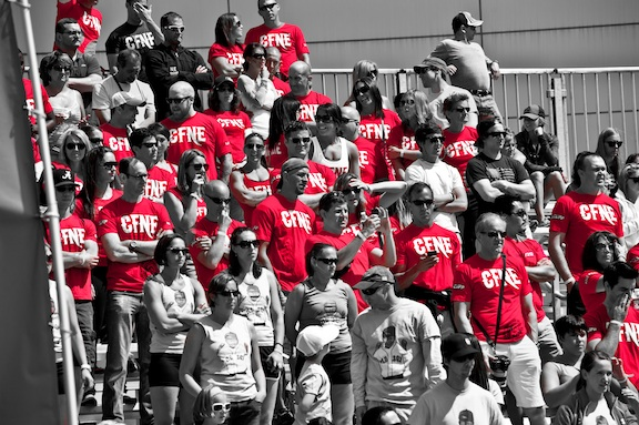 Sea of Red!
