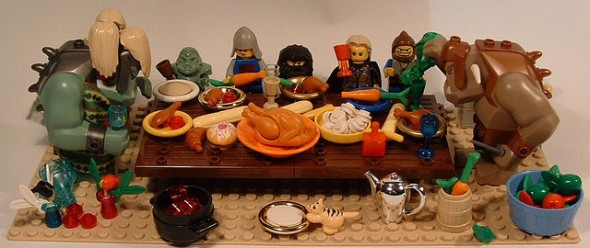Lego Thanksgiving