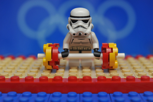 Stormtroopers are good at Crossfit.