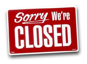 closed-red