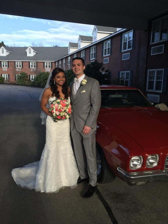Congratulations to Dayna and David!