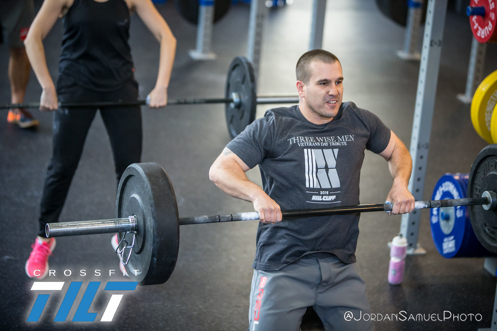 Sweder rocking a killer mean mug. Watch out power cleans!