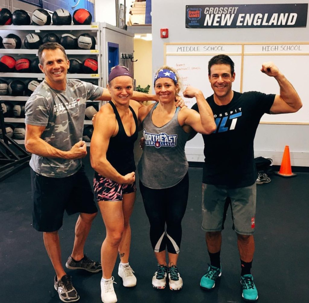 Congratulations to Papa Len and his group of Masters of the Universe for placing #1 in the Northeast and #8 in the World in the CrossFit Team Series Masters Division!