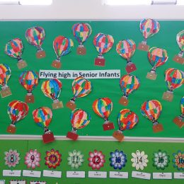 Senior Infants are off to a flying start