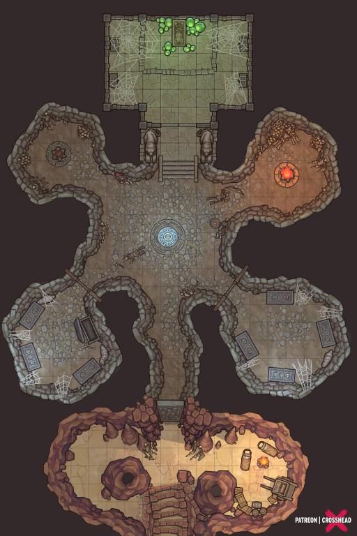 King Mauler's Tomb Crosshead Patreon