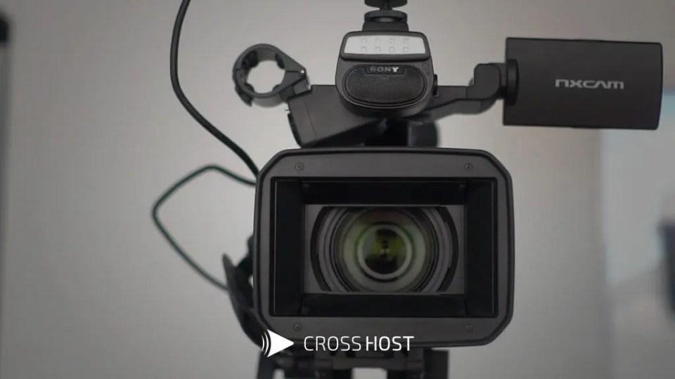 câmera profissional para transmissão ao vivo
