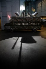 Platform 'REFINING MEMORY' - The Bus by S.D. Camp outside Stephen Lawrence Centre - Photo by Martin LeSanto-Smith_s
