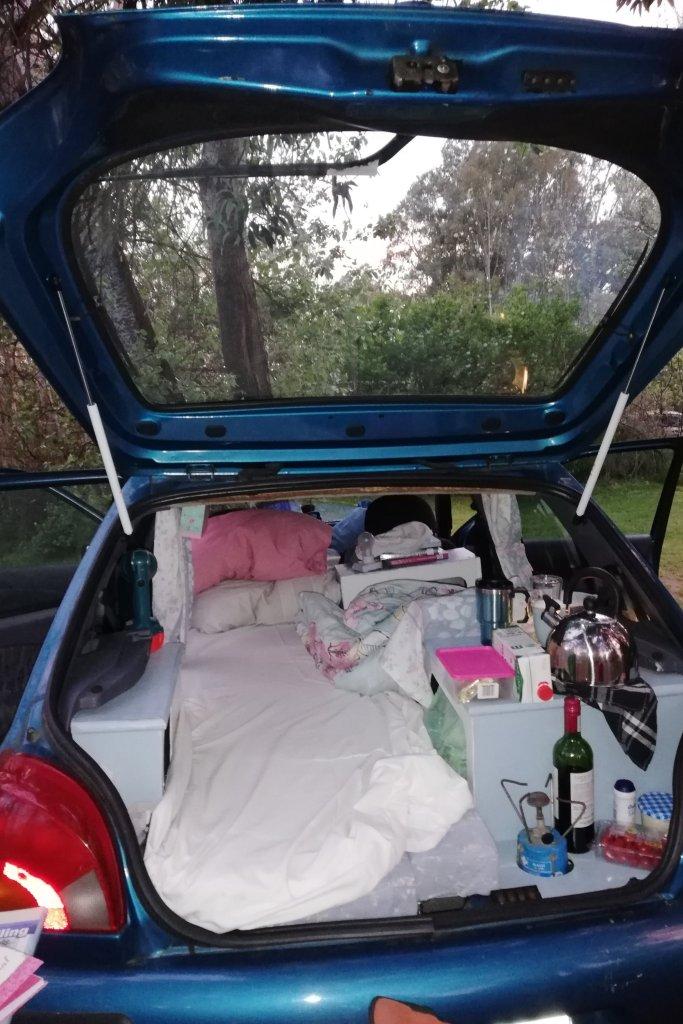 My Mazda Campervan