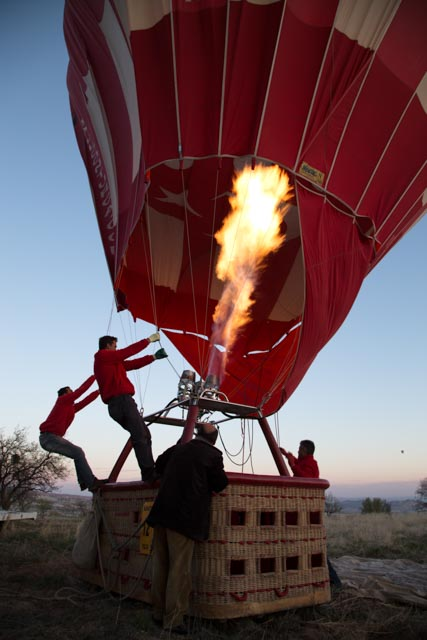 Inflating the Balloon