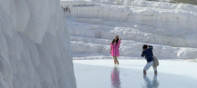 Pamukkale, Turkey – Cotton Castles in the Sky