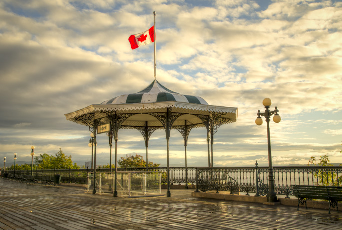 Dufferin Terrace Gazebo