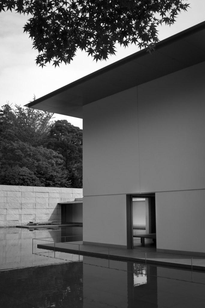 exterior of meditation room
