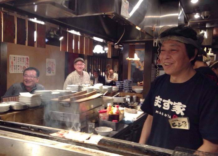 Yakitori cook