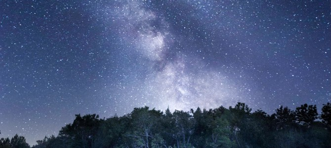 """Milky Way Over The Wolf River"" Photo selected for Athens Gallery"