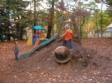Local volunteers needed to haul supplies and work with Hopis to set up some playground play areas.