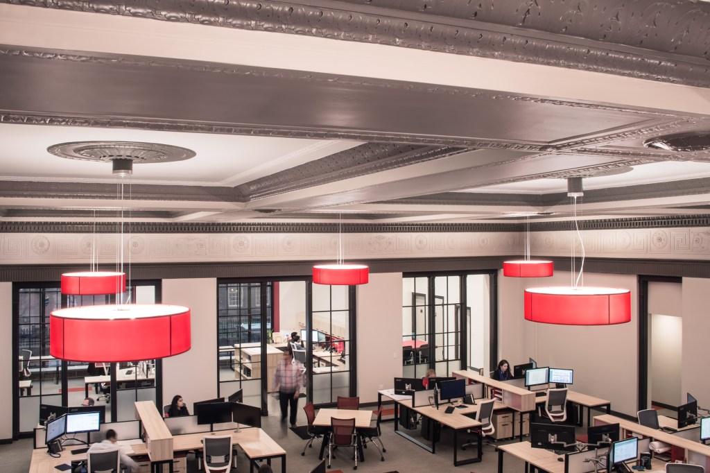 Crosskey Architects, Open Office, Design Studio, Architecture