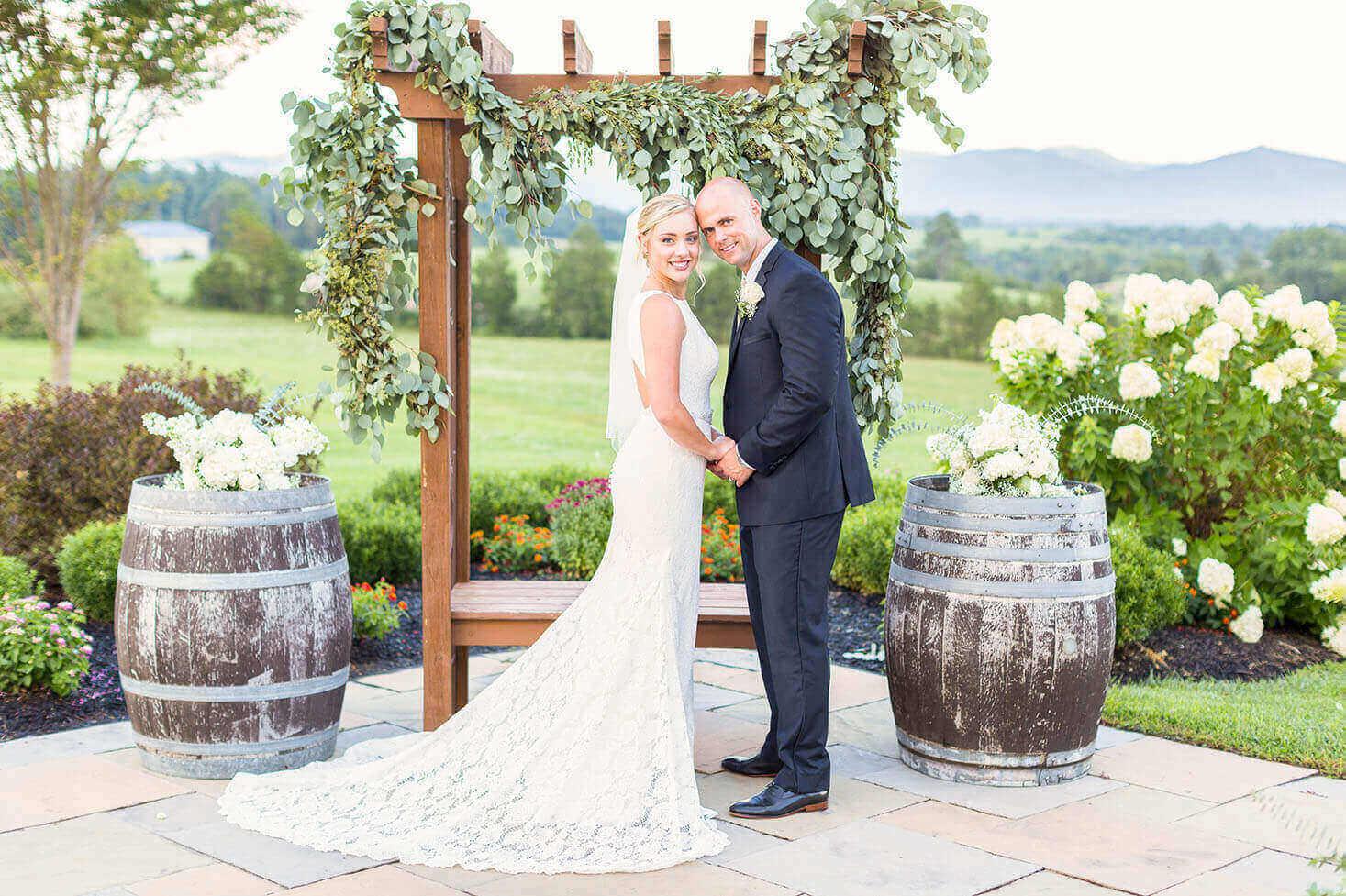 Weddings At CrossKeys Vineyards