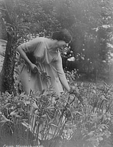 Respite in the Garden, 1930