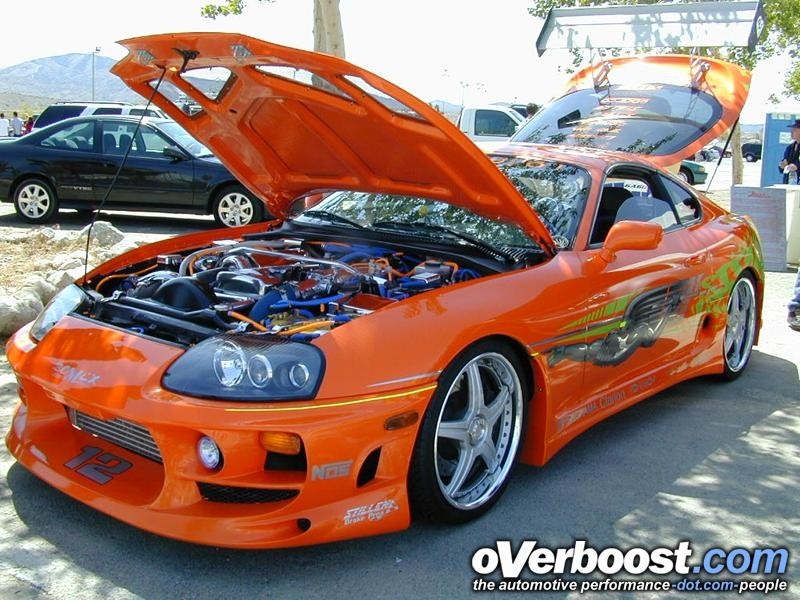 """The Famous """"Fast And Furious"""" Supra"""
