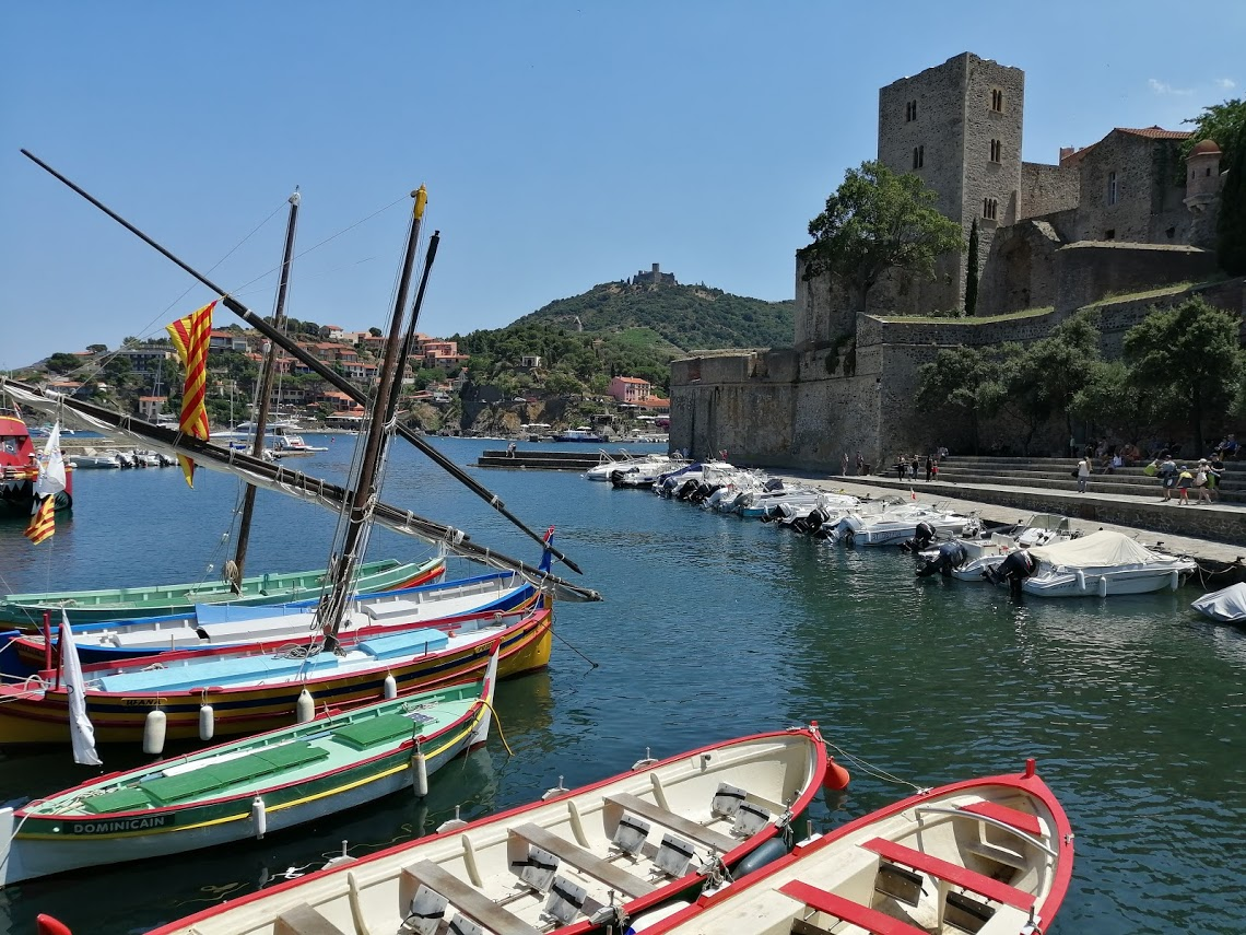 Collioure France harbor