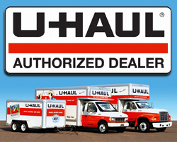 crossroads inn & suites uHaul rental
