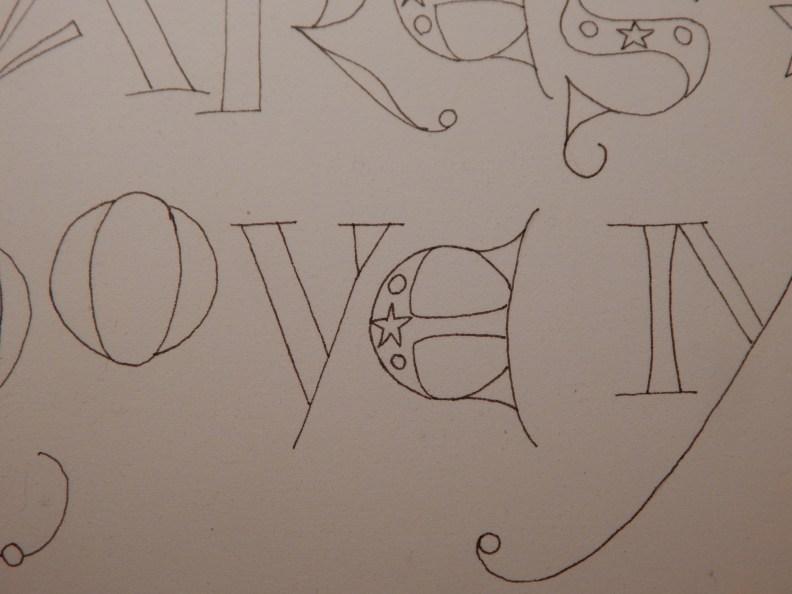 Letter Sketch 3