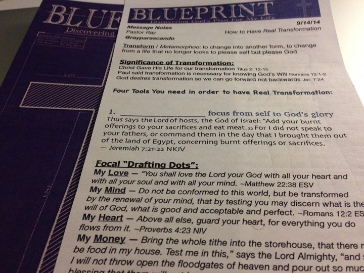 Sundays - BluePrint_OutlineAndBulletin