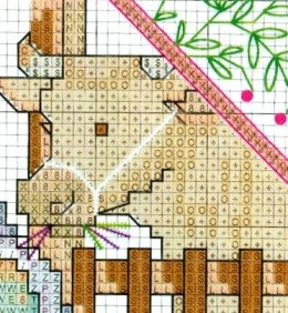 Cross Stitch Pattern Sample
