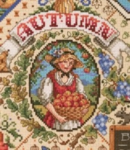 Autumn Cross Stitch Sampler