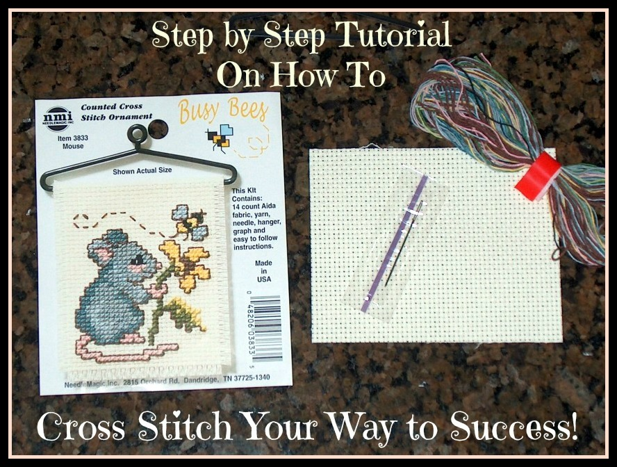 Cross Stitch - Basics Tutorial