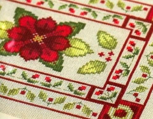 Needlework Treasures Cross Stitch Book