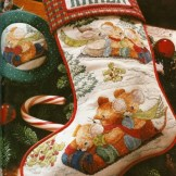 The Season for Stitching Cross Stitch Book