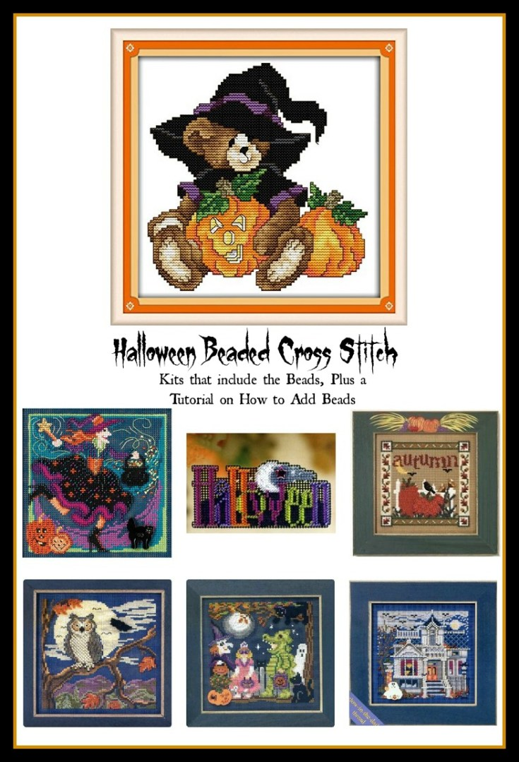 Halloween Beaded Cross Stitch Kits and Tutorial