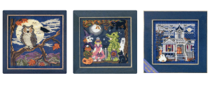 Halloween Beaded Cross Stitch Kits, Books and Supplies