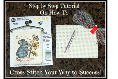 Learn How to Cross Stitch