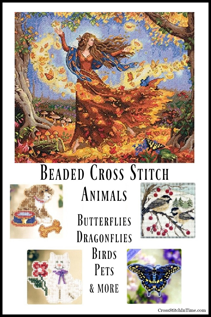 Animals Beaded Cross Stitch Kit
