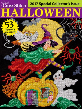 Just CrossStitch Halloween Special Collector's Edition Magazine