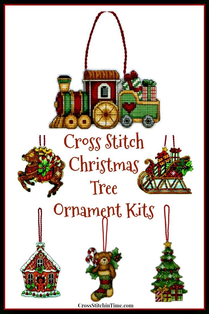 Dimensions Cross Stitch Christmas Ornament Kits