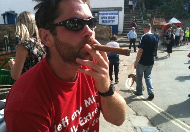Cross the UK: Coast to Coast finish at Robin Hood's Bay with Victory Cigar