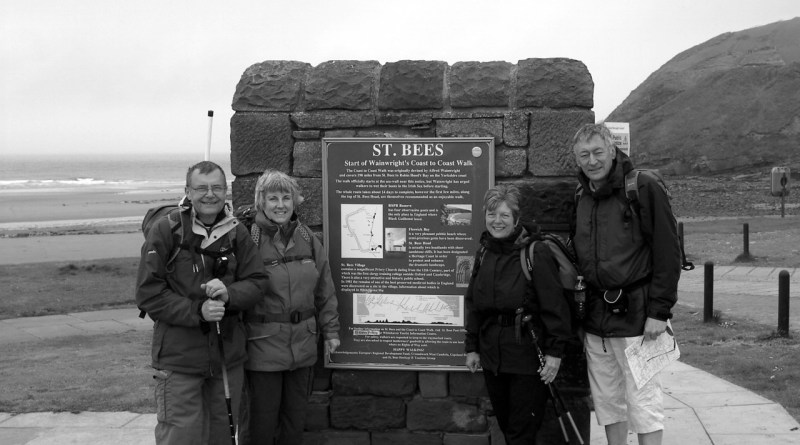 Cross the UK: Philip Catterall B&W Photo on Wainwright's Coast to Coast