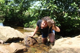 Cross the UK: HTCS Duke of Edinburgh Silver Final Expedition North Yorks Moors Bethan Cools Down