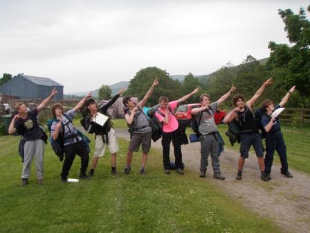 Cross the UK: HTCS Duke of Edinburgh Practice Expedition 'Los Tankos'
