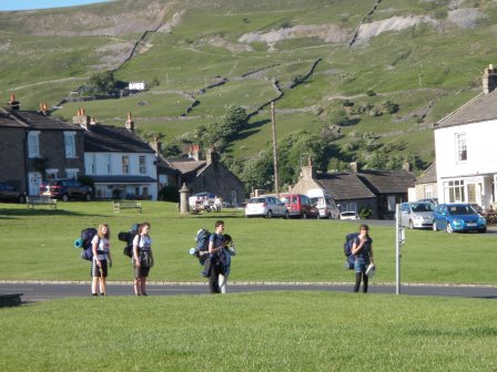 Cross the UK: Duke of Edinburgh in Reeth, North Yorkshire Dales