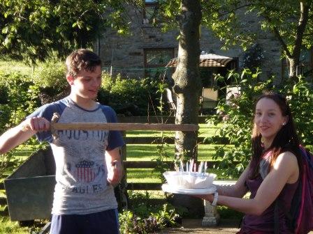 Cross the UK: Duke of Edinburgh HTCS Jackson's Birthday Cake